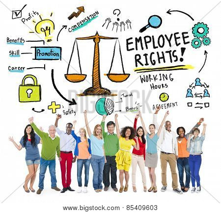 Employee Rights Employment Equality Job People Celebration Concept