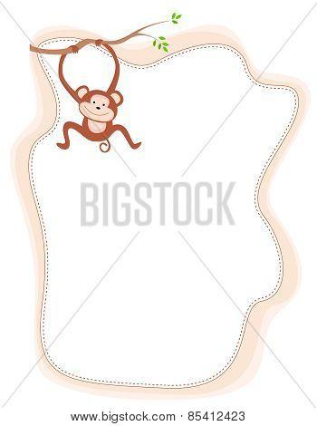 Monkey Frame / Border