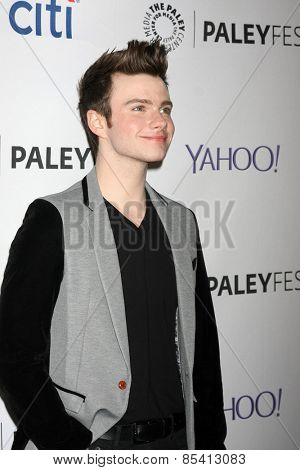 LOS ANGELES - MAR 13:  Chris Colfer at the PaleyFEST LA 2015 -