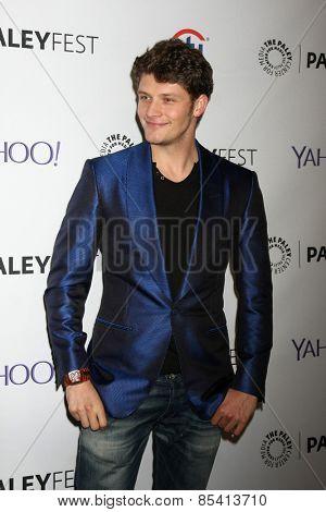 LOS ANGELES - MAR 15:  Brett Dier at the PaleyFEST LA 2015 -