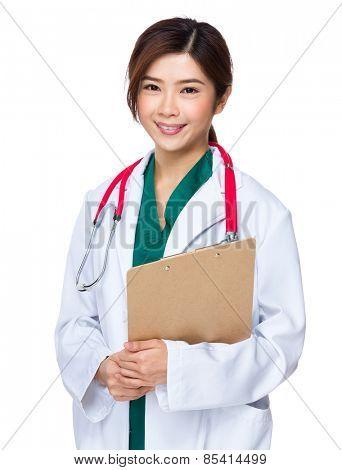 Asian medicine doctor woman