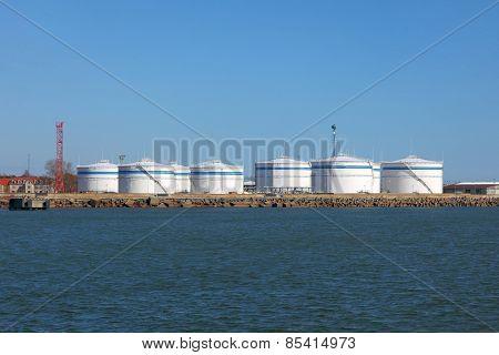 Oil Silos