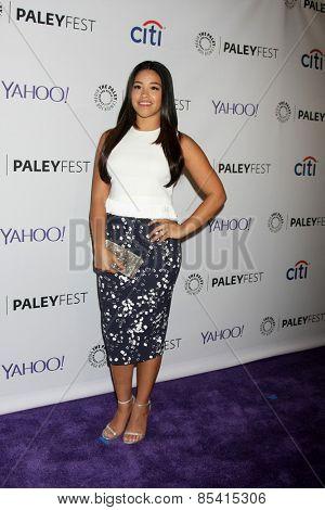 LOS ANGELES - MAR 15:  Gina Rodriguez at the PaleyFEST LA 2015 -