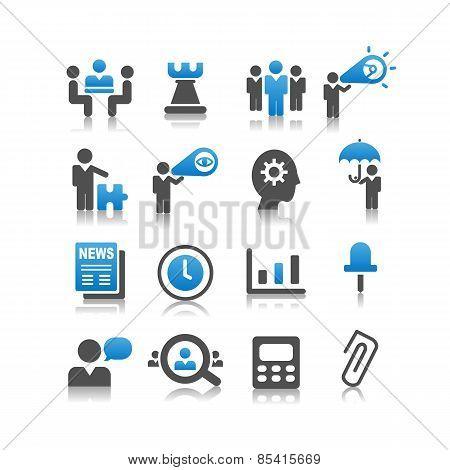 Business Concept Icon Set