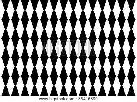 Wave Spiral Illusion Pattern