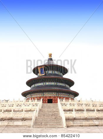 Temple of Heaven in Beijing, China. Summer day