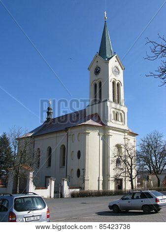 Church of St. Wenceslas, Mníšek pod Brdy