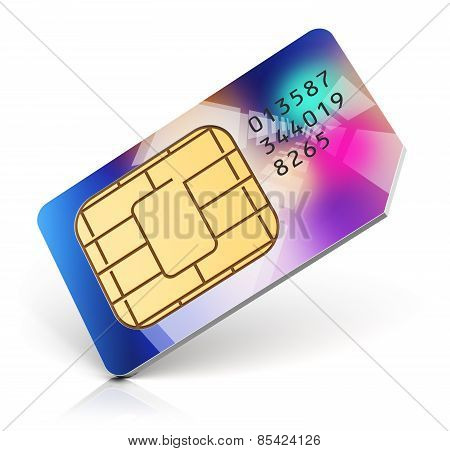 Color SIM card