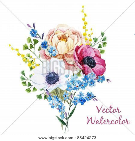 Anemones flowers