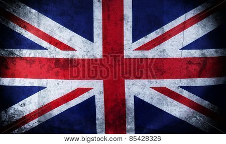 Old Grunge Uk, British Flag, Union Jack
