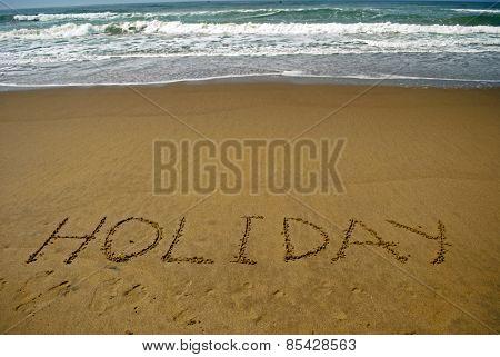 Holiday on sea beach 3