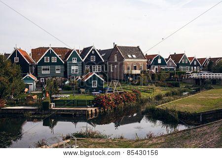 Marken island, Netherlands