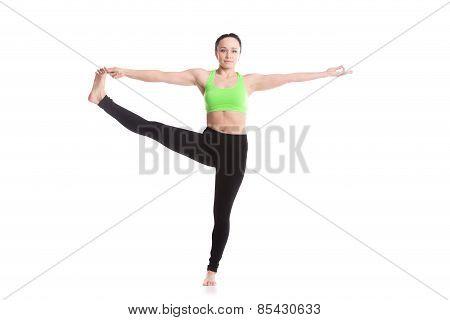 Utthita Hasta Padangustasana Yoga Pose