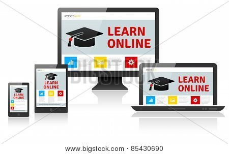 Responsive Web Design On Different Devices - Learn Online