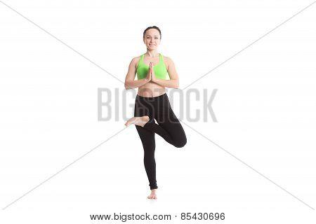 Yoga Vrikshasana Posture