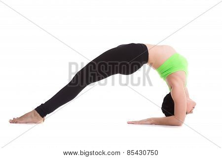 Two-legged Inverted Staff Yoga Pose