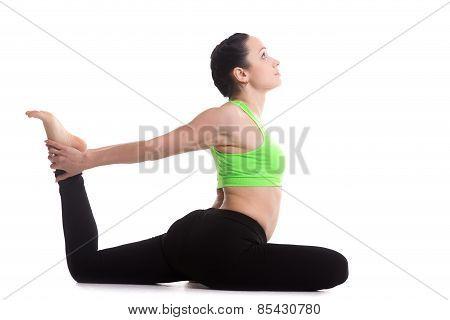 Eka Pada Rajakapotasana Yoga Pose