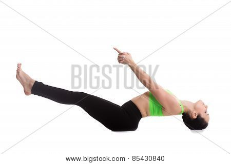 Matsyasana Yoga Pose