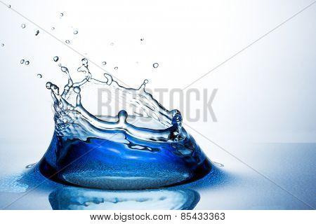 Beautiful splash of water