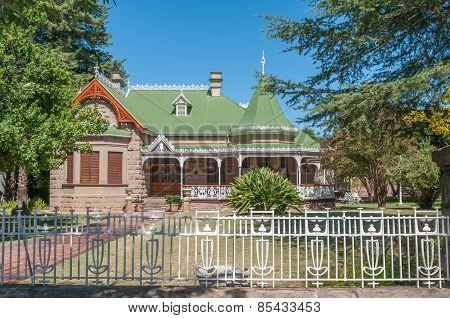Historic Old House In Oudtshoorn