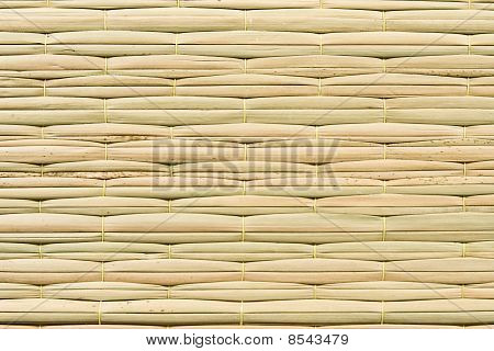 Weave pattern of reed mat