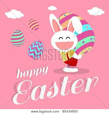 happy easter day for card design