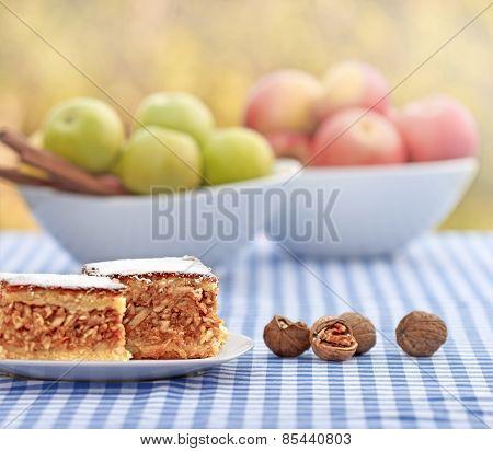 Apple pie (apple cake)