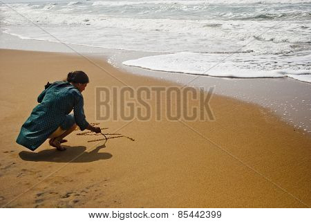 Writing on Sand