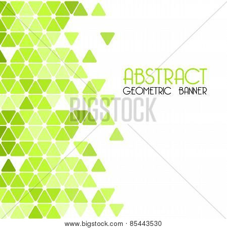 Abstract retro geometric background. Template brochure design