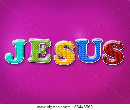Colorful Jesus Theme
