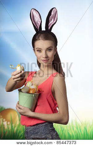 Easter, Pretty Girl