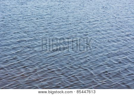 Ripples On The Water.