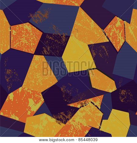Colorful Seamless Background Mosaic