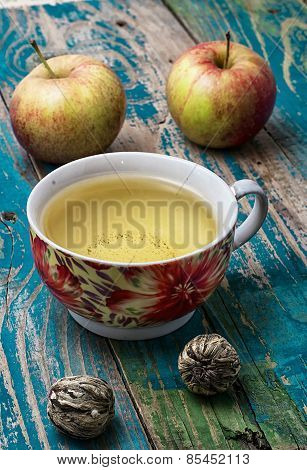 Cup Of Apple Tea