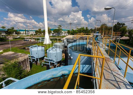Rainwater treatment plant