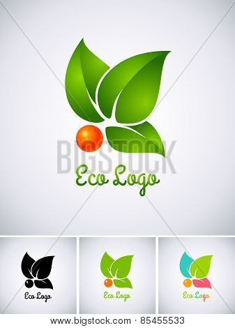 logo with orange berry