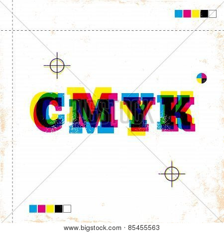poster with CMYK