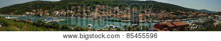 Marina Town Panorama, Croatia