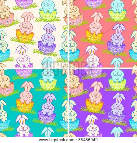 patterns with rabbits