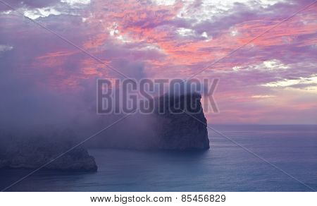 Cap De Formentor At Sunset - Balearic Island Majorca - Spain