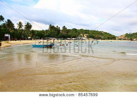 Sri Lanka, Unawatuna beach