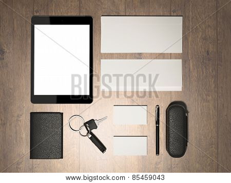 Every Day Carry. Mockup Business Template.