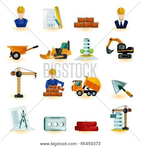 Architect Icons Set