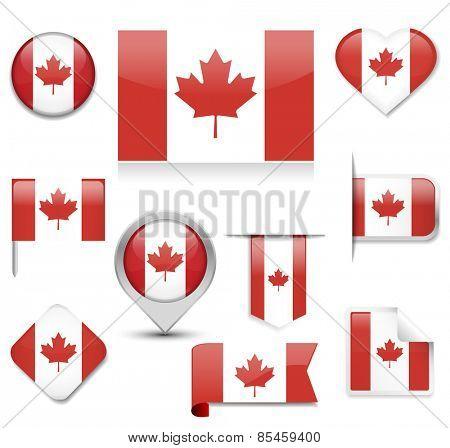 Canada Flag Collection