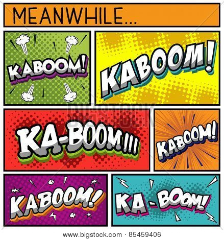 Comic Book Collection-KABOOM