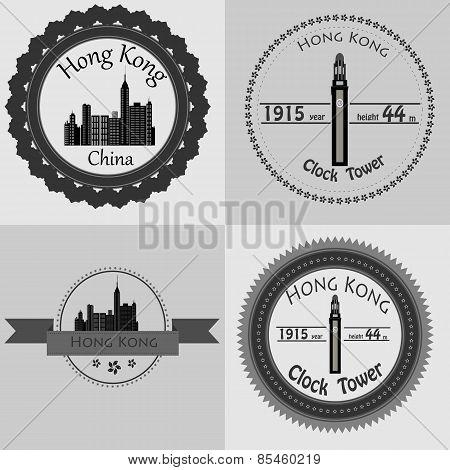 A symbol of modern Hong Kong.