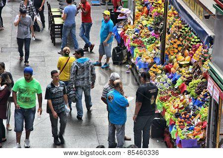 Sao Paulo Fruit Market