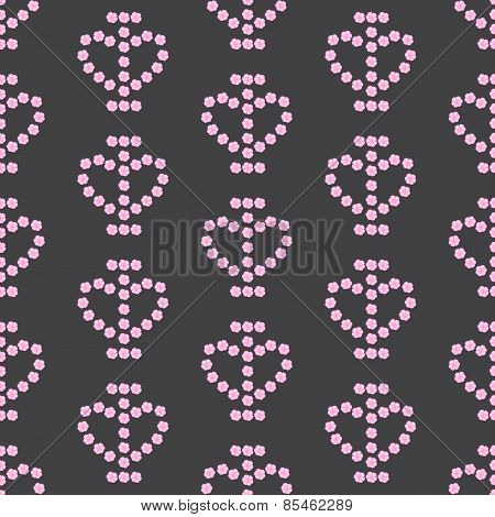 I Love Flowers Pattern