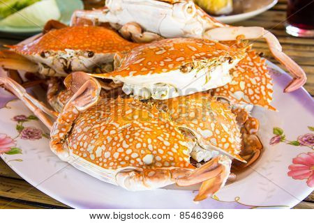 Hot Steamed Crabs