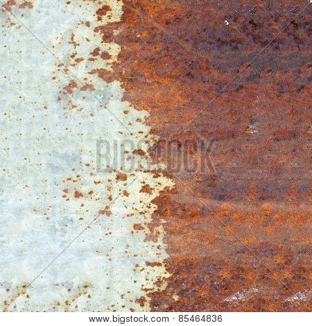 Corroded Metallic Texture Background
